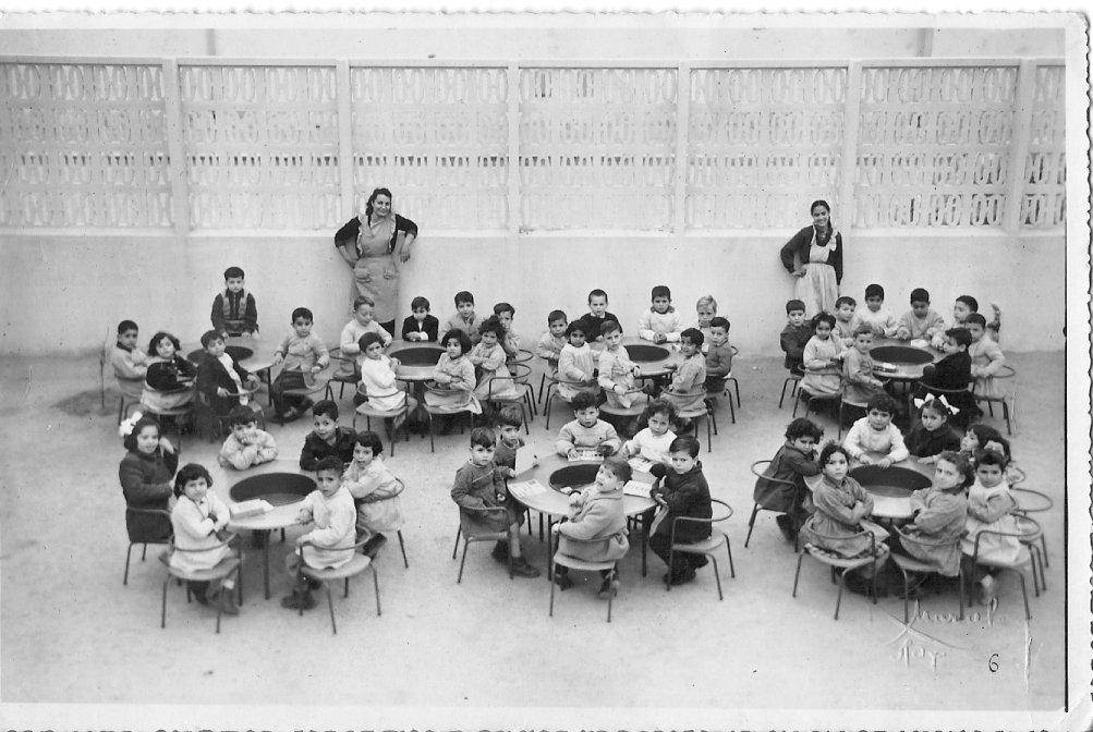 1954 Maternelle de l\'alliance israelite de Sfax (Saada Chalom).jpg